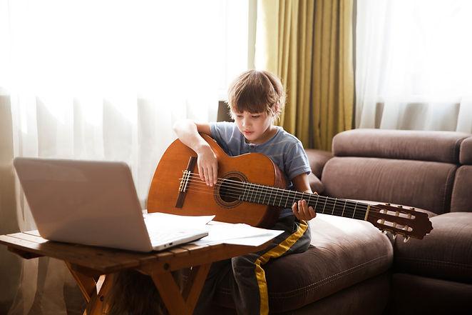 Lekcja gitary online