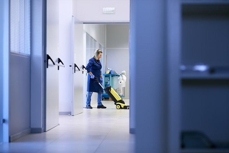 Vacuuming the Hall