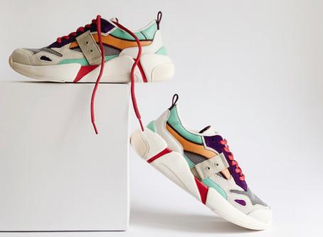 Os componentes dos calçados