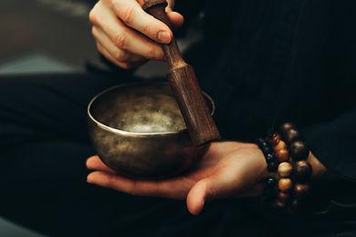 Buddhistische Klangschale