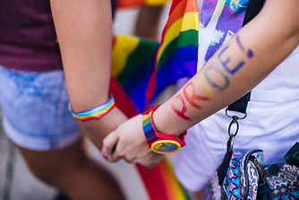 Pride Holding Hands