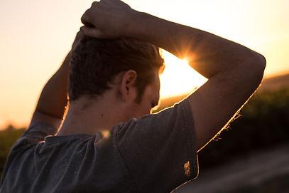 domestic violence man stressed upset