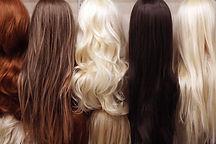 Wigs on Display