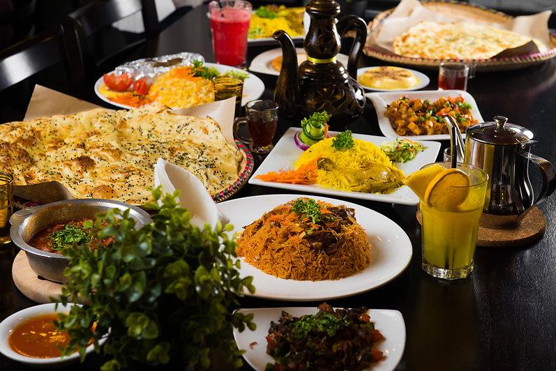 Essen aus dem Nahen Osten