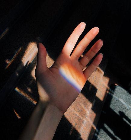 Prisma zur Hand