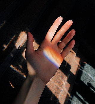 Prism on Hand