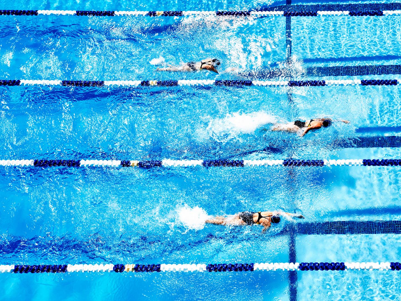 Nuotatore professionista