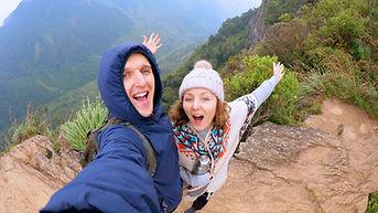 Happy hikers Wix