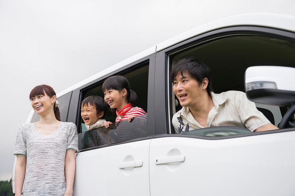 家族のドライブイメージ