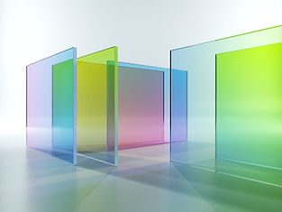 Colorful Translucent Glass