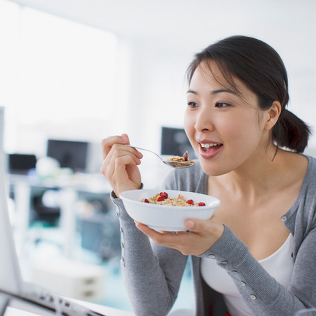 How do you eat? Is stress causing your bloating?