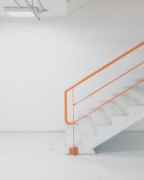 Orange Handrail