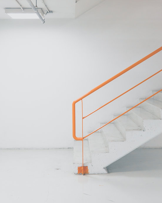 Orange Handrail
