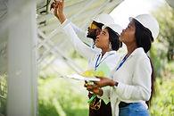 Women Solar Panels Technicians in Africa