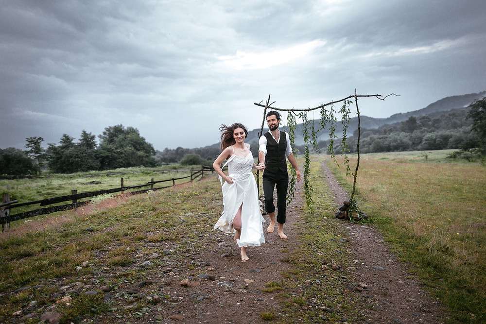 Sustainable wedding is important for this newlyweds as they wish green wedding in Denmark