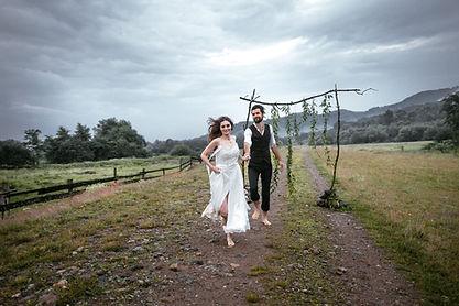 Открытый Свадебная фотография