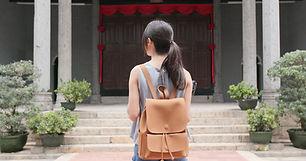 Woman at Entrance