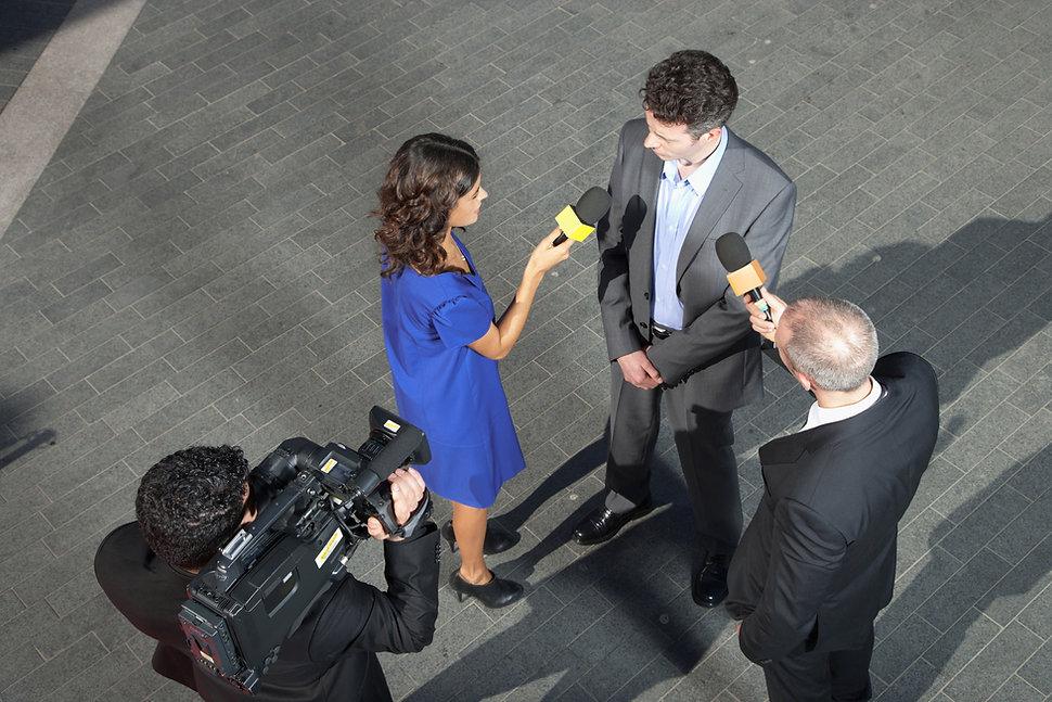Entrevista ao vivo