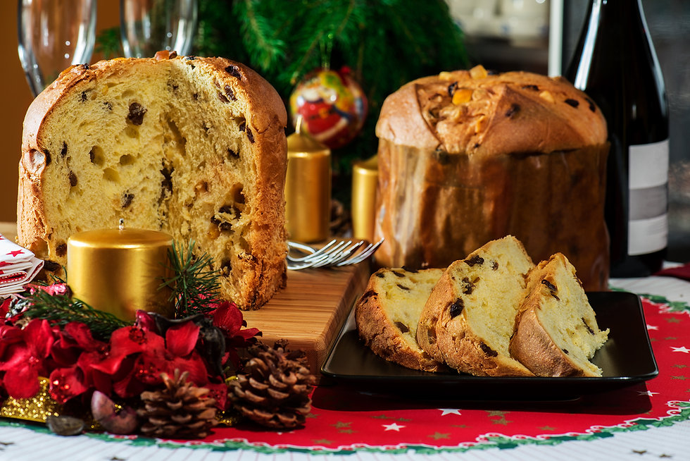 Sliced Panettone