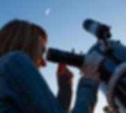 Blick durchs Teleskop