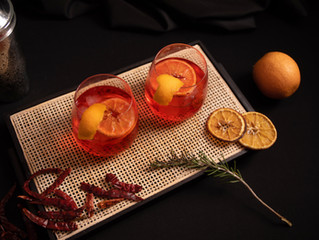 October Signature Drink-The Spicy Cocktail