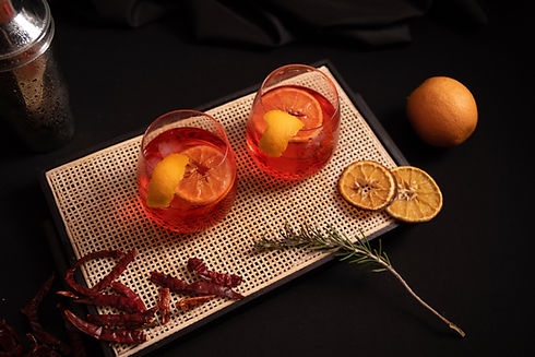 Citrus and Chili Cocktail