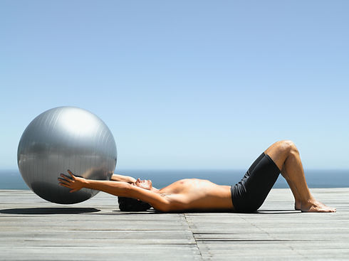 Working Out with a Pilates Ball