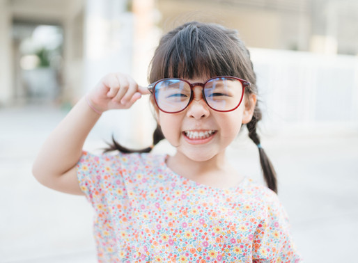 August is Children's Eye Health and Safety Month