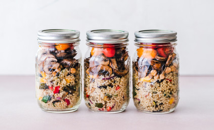 Quinoa Dish in Jar