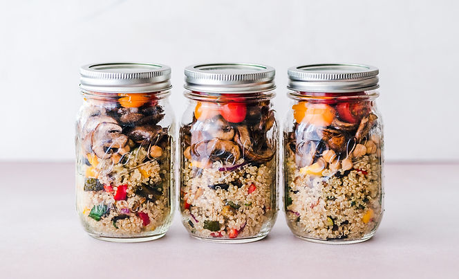 Quinoa Dish in Jar