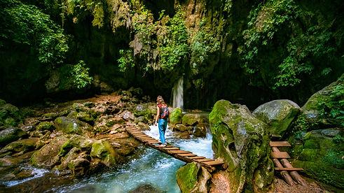Traverser la rivière