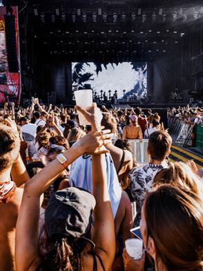 Concert en extérieur
