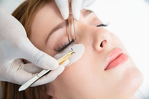 Eyelash extensions are semipermanent lashes that are hand-glued on top of your natural lashes. Simplify your morning routine and feel more confident than ever with custom eyelash extensions
