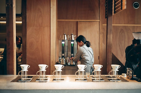 こだわりのコーヒースタンド