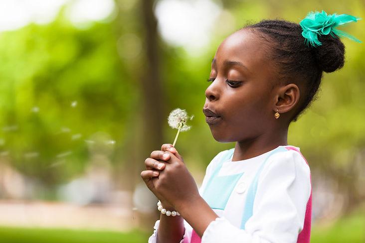 Blowing on a Daffodil