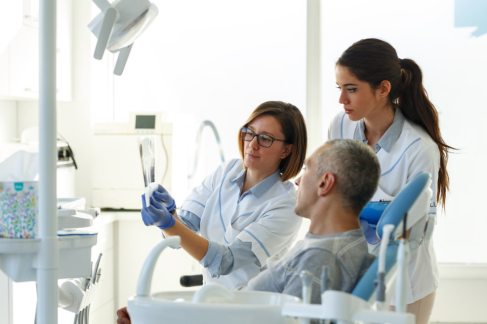 X-rays for dental implant