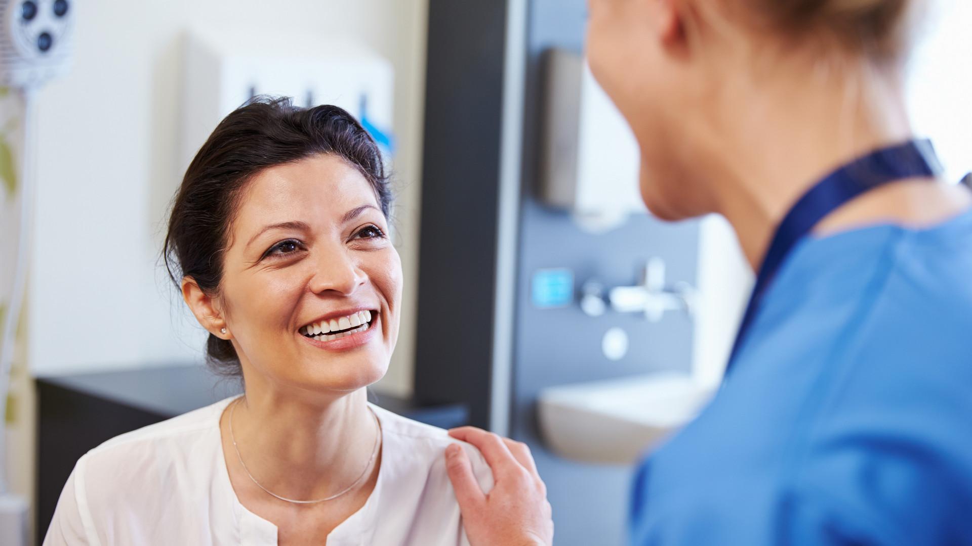 Paziente felice