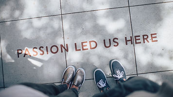 Passion Led Us Here/Brand Strategy Consultation/Branding/Humanize It by Brian Rubiano