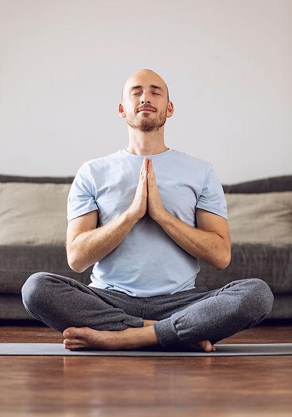 Meditating at Home
