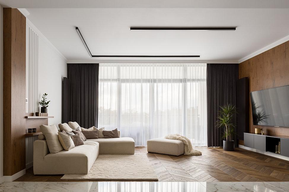 Acogedora sala de estar