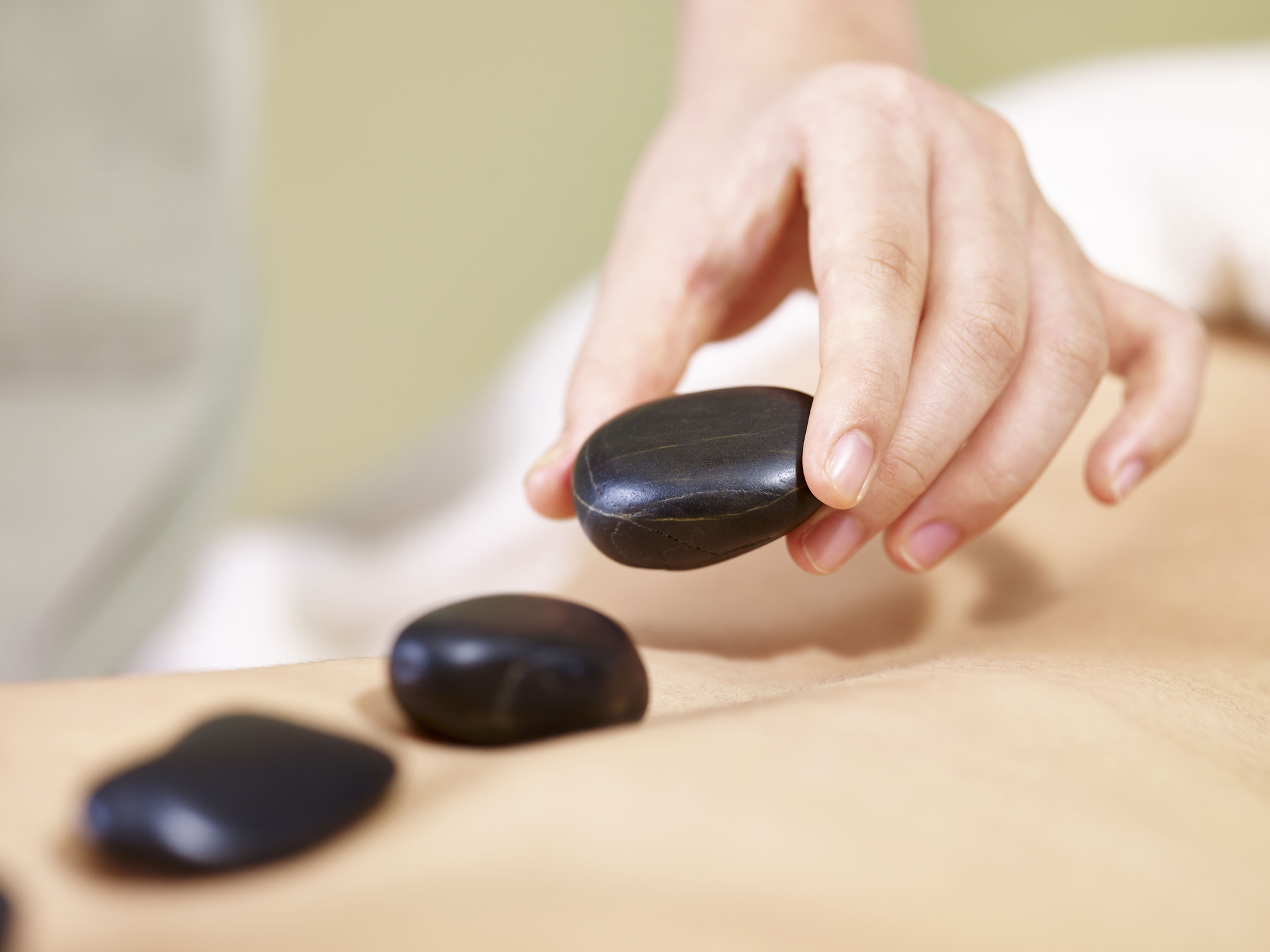 Hotstone Massage Ganzkörper