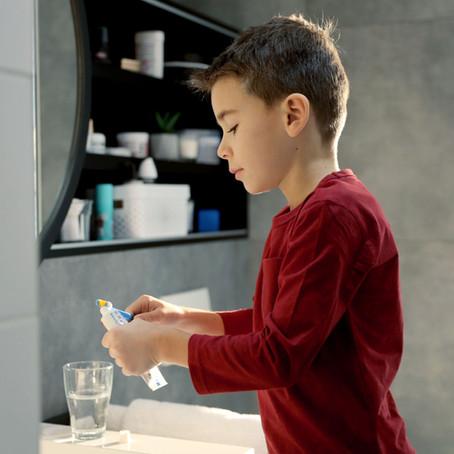 歯磨き粉の使い方