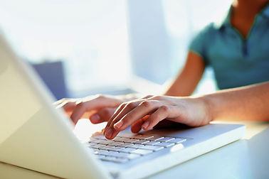 Escribir en la computadora