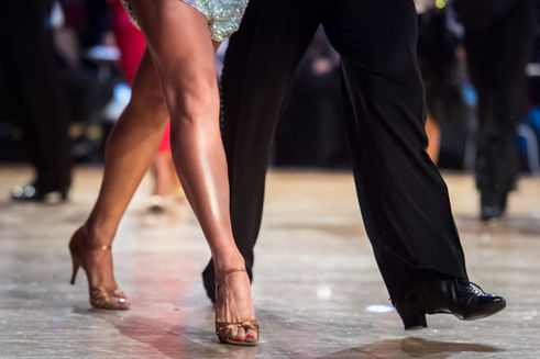 Elegante dansers
