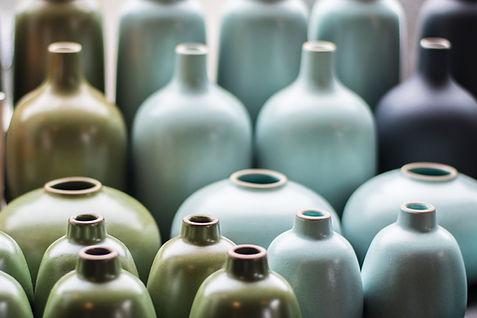 Bottiglie di ceramica