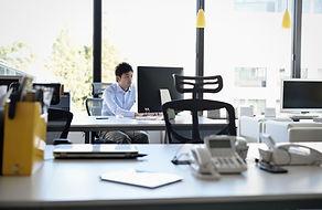 オフィスでの風景