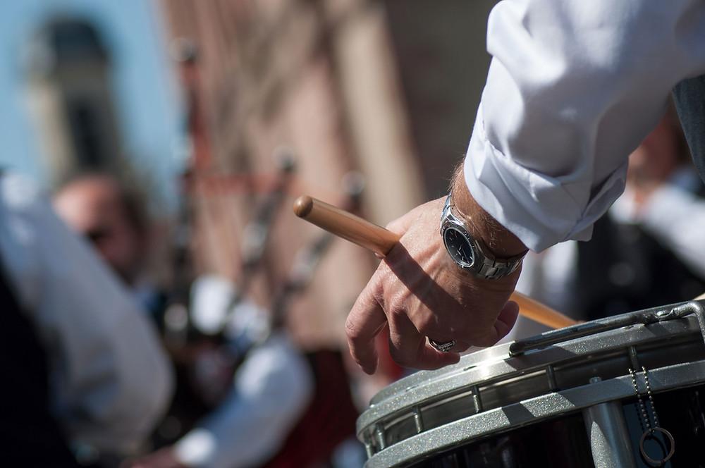 scottish drummer edinburgh street