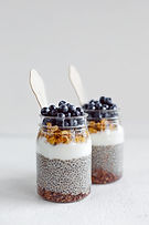 Chia Coconut pudding
