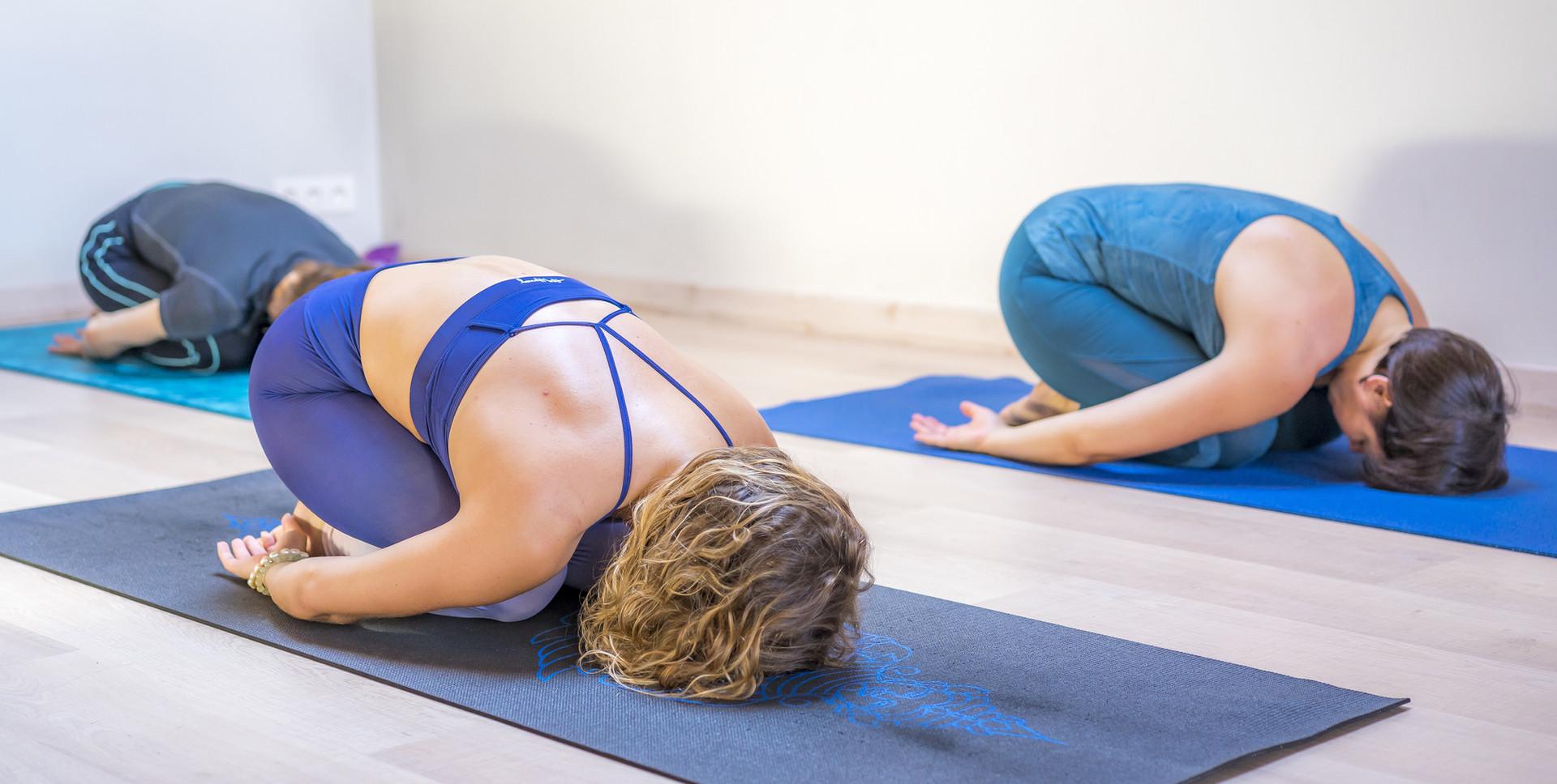 Posture de yoga