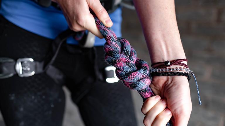 Nœuds de base et gestion de la réserve de corde | soirée